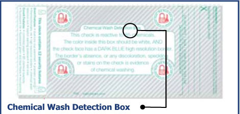 Chemical Wash Detection Box