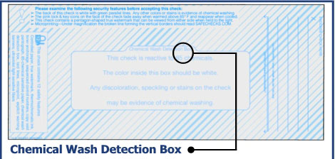 Chemical Wash Detection