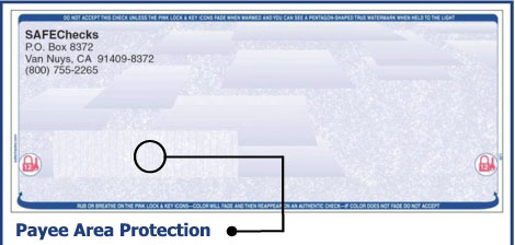 Payee Area Protection
